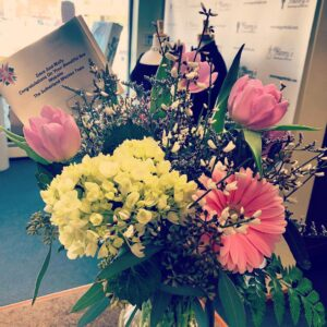 Congratulatory Flowers For A Successful Website Launch