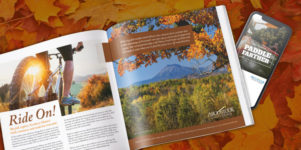 Aroostook County Tourism Marketing Exmaples