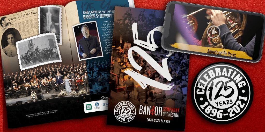 Bangor Symphony Marketing Samples