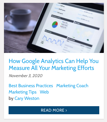 Google Analytics For Measuring Marketing