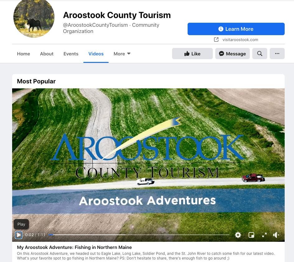 Aroostook Video Example